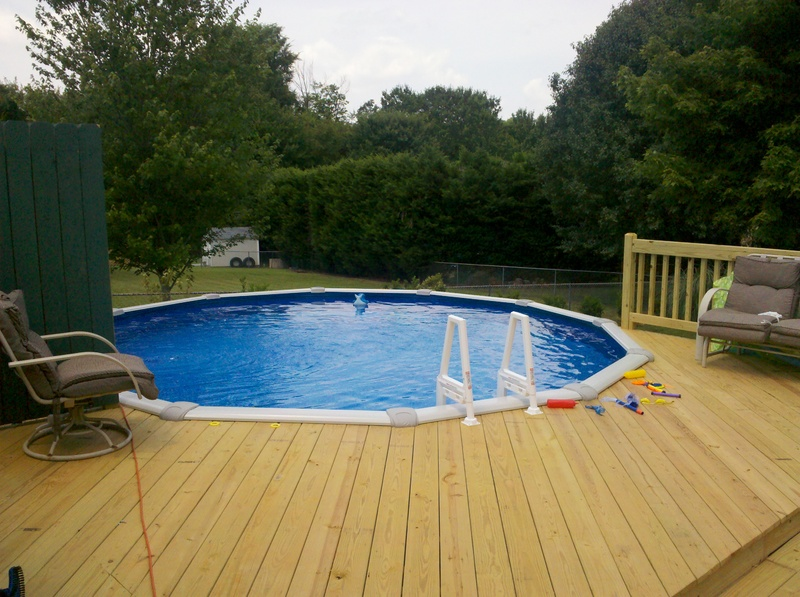 Decks And Deck Ideas For Above Ground Pools